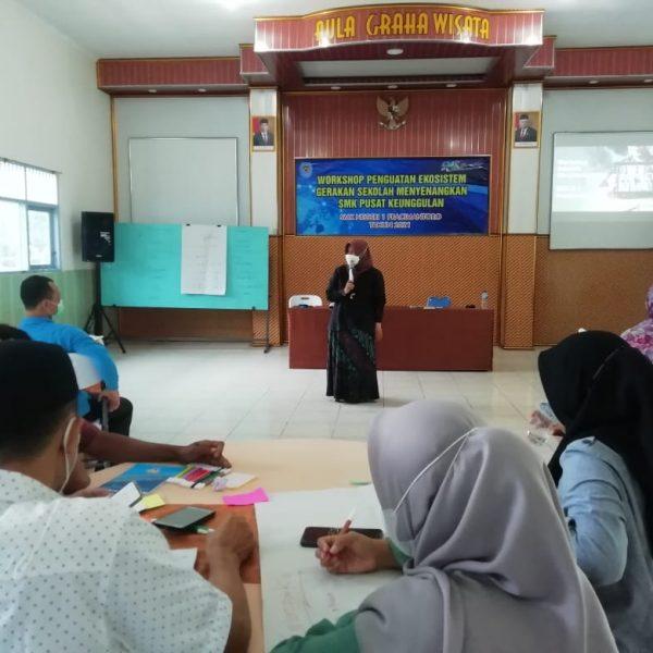 Siap PTMT, SMK Negeri 1 Pracimantoro Perkuat Ekosistem Gerakan Sekolah Menyenangkan dengan Pembalajaran Berbasis SEL